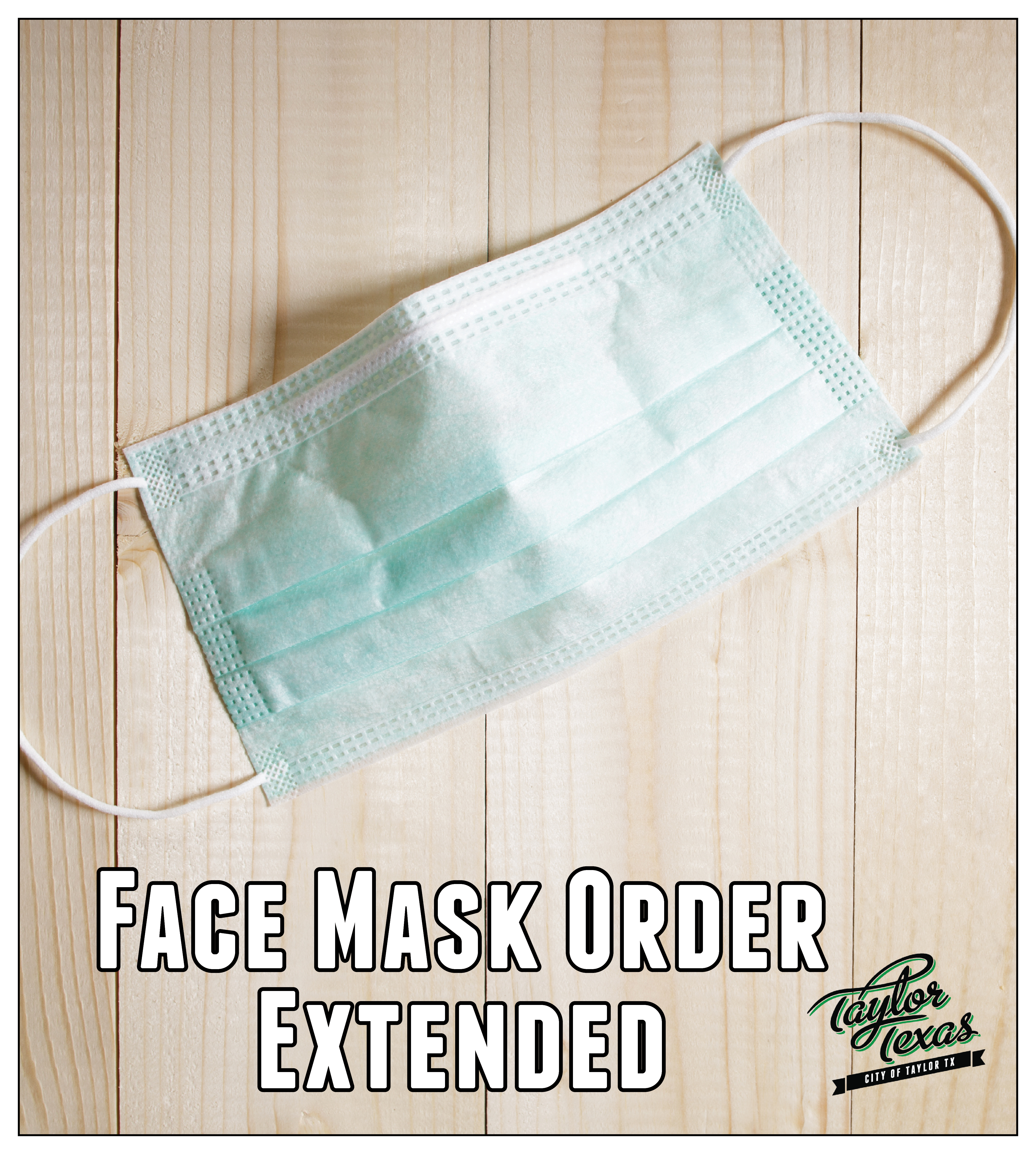Face Mask Order Graphic