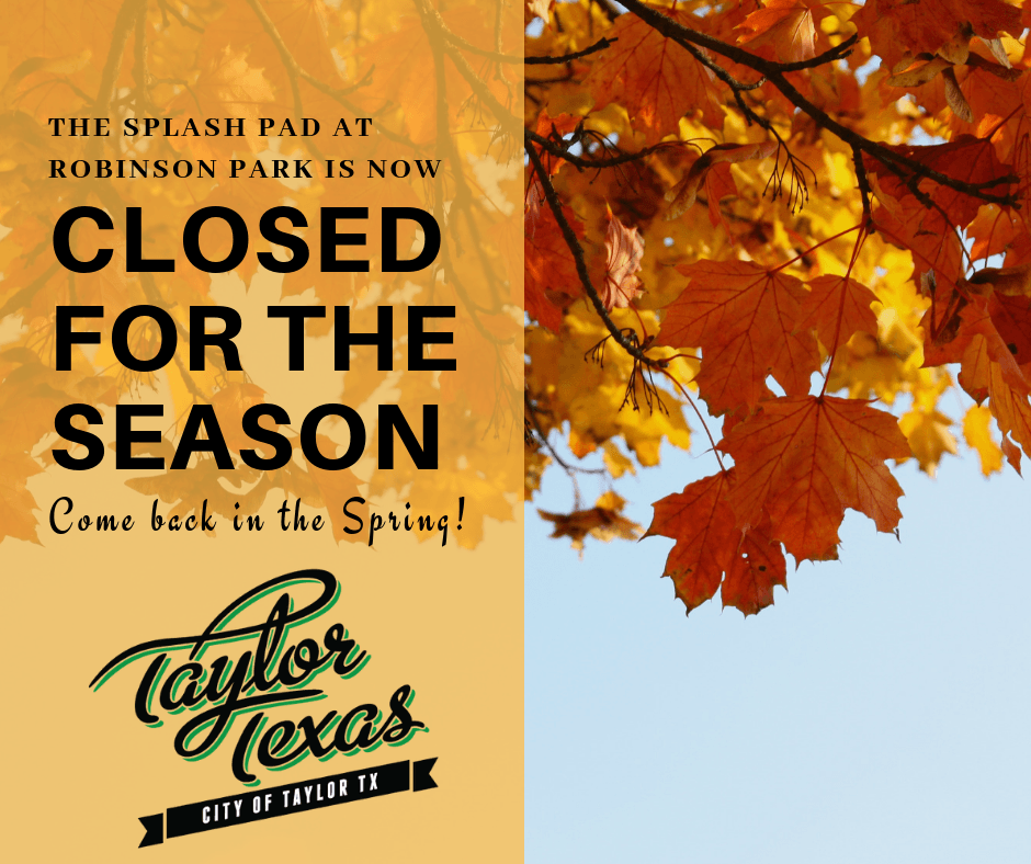 CLOSED FOR THE SEASON